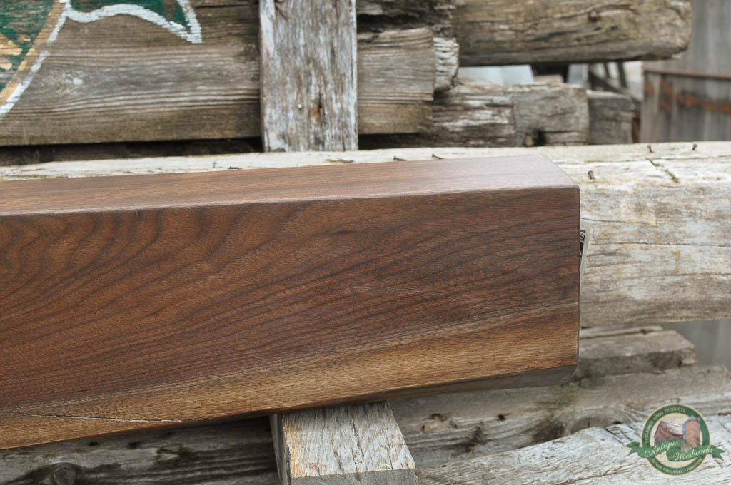 Black Walnut Fireplace Mantel Beam (DAVEY-TREE) – Antique